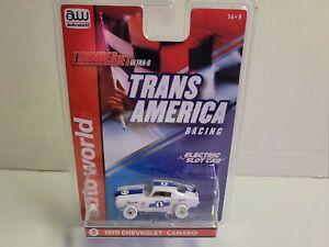 Rare autoworld iwheels 1970 chevy Camaro  trans america