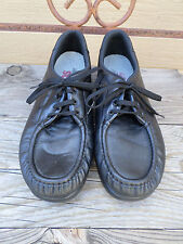 SAS Black Leather Oxfords Women's 11 N made in USA