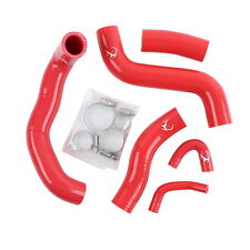 Red Silicone Radiator Hoses Cooler Hose Kit For Kawasaki ZRX1200R 2002-2007 06