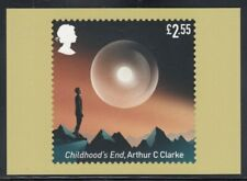 """Great Britain """"Childhood's End"""" by Arthur Clarke Royal Mail Stamp Card"""