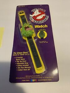 New 1980s Slimer Ghostbuster Children's Watch Unpunched!