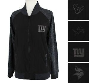 OTS  NFL Mia Jacket Women's Full Zip Team Lightweight Track Jacket