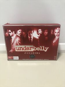 Underbelly: Foursome - Series 1-4   Boxset DVDs