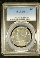 1971 50C Kennedy Half Dollar-PCGS MS 65--784-1