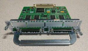 Cisco NM16A 2600 2811 2821 2851 3600 3700 3800 16 Port ASYNC Asynchronous Module