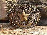 Western Rodeo TEXAS Cowboy Lone Star Belt Buckle (FREE SHIPPING)