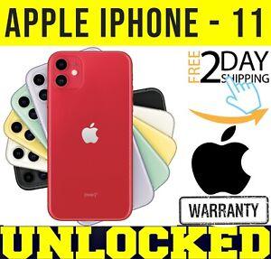 Apple iPhone 11 - 64GB / 128GB (FACTORY UNLOCKED) BLACK / RED / GREEN ❖SEALED❖