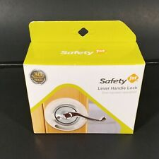 Safety 1st Child Proof French Door Lever Handle Lock Baby Lock 1 Set of 2 NEW