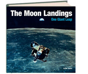 The Moon Landings : One Giant Leap by Colin Salter (Hardcover) NEW