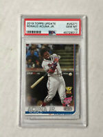 RONALD ACUNA JR 2019 Topps Update RC Cup RC #US271! PSA GEM MINT 10! BRAVES!