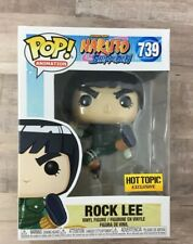 Funko Pop! Naruto Shippuden Rock Lee #739 Hot Topic Exclusive I04