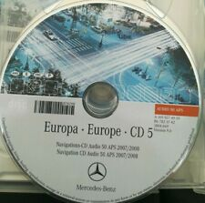 Mercedes Navigation CD Audio 50 APS 2008 -CD5 SPAIN /Espana PORTUGAL orange NTG2