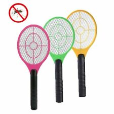 Cordless Rechargeable Bug Zapper Mosquito Insect Electric Fly Swatter Racket Bat