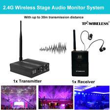 TP-WIRELESS Wireless In Ear System Transmitter Receiver Stage Stage Ear Return