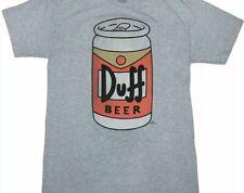 DUFF BEER SIMPSONS  HOMER T-SHIRT MMM... BEER XX-LARGE (2XL) NEW