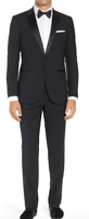 Hugo Boss Men's The Stars 75/glamour 3 Wool Tuxedo Size 44 R New $895