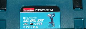 Makita DTW285RTJ 18V Akku Schlagschrauber + 2x Akku  MAKPAC Ladegerät