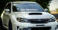 1 Set SUBARU Windshield Decal Sticker Banner Suba Graphics Vinyl Sti Window WRX