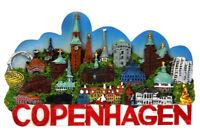 Copenhague Dinamarca Poly Imán Candado Rosenborg Recuerdo Dinamarca
