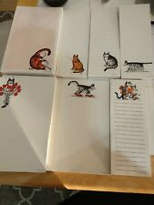 Vintage Kilban Cat Stationery notepads