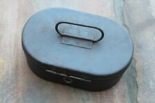 WW2 German Army  metal small tin case box for headphones? SALE PRICE!!!!!!!!!!!!