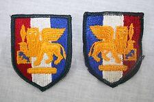 US ARMY PATCH SOUTHERN EUROPEAN TASK FORCE SETAF Full Color SSI BDU ACU