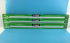 Feit Electric 4-Ft LED Tubes 1700 Lumens 4100K Cool White 14 Watts -Lot of 3 #5J