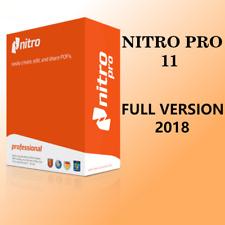 Nitro Pro 11 PDF Reader Creator Editor FULL-VERSION License Key
