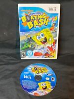 Nintendo Wii: SpongeBob's Boating Bash, Tested, Free Shipping, Buy 2 Get 1 Free