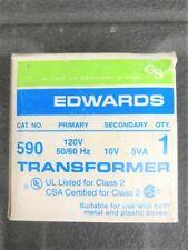 Edwards 590 10 Volt Doorbell transformer
