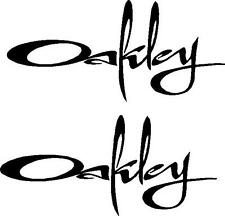 2 OAKLEY STICKERS SURFING SURF FORD CORSA SKATE LAND ROVER STICKER