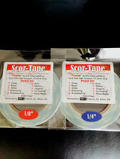 "FUN PACK! Scor-Tape Adhesive  - 1 each 1/8"" and 1/4"" Scor-Pal FREE SHIPPING!!!"