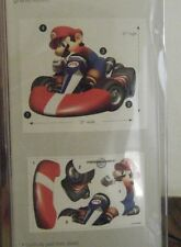 "MARIO KART WII GIANT PEEL AND STICK WALL DECAL 27"" BY 32"" HUGE"