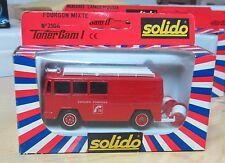 Solido pompiers 1/43 Tonergam I 2106 Fourgon mixte