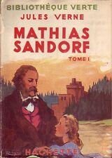 Bibliothèque Verte ! Bourses de voyage ! Jules Verne ! 1940 ! Tome 1 !