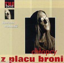 "= CHLOPCY Z PLACU BRONI - THE BEST "" kocham wolnosc "" // CD sealed"