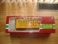 LGB #4074 Pabst Box Car