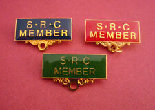 SRC MEMBER Metal Badge Pin Choose From 3 Colours Student Representative Council