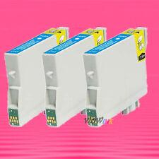 3P NON-OEM CYAN INK alternative for EPSON T044220 T0442 Stylus CX6400 CX6600