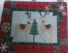 CLAYRE&EEF Tischset Weihnachten Platzset Rentiere Tannenbaum 30*45 cm Christmas
