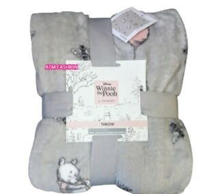 Disney Winnie The Pooh Bed Throw Super Soft Fleece Blanket 120x150cm