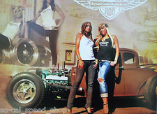 18X12 HOT ROD FORD MODEL A POSTER PINUP RAT 1930 31 AMERICAN MAG BUICK NAILHEAD