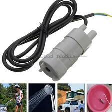 12V DC Solar Brushless Magnetic Submersible Water Pump 5M 600L/H Fish Pond New