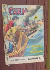 """1976 MEXICAN COMIC CHANOC # 885 """"EL MISTERIO DEL TRIANGULO"""" BERMUDA PARODY"""