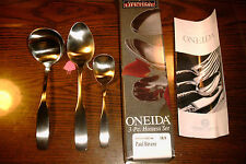 Oneida PAUL REVERE 18/8 Stainless Steel Flatware 3 piece Hostess Set - REDUCED!!