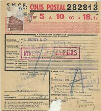 3 bulletins d'expéd. de Colis postaux avec timbre N° 208  - (AW)-  25-05-20