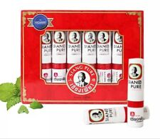 1pcs Thaïlande Menthe Cylindre Inhalateur Nasal Rafraîchir Cerveau Anti Fatigue