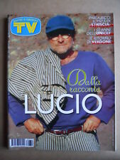 TV Sorrisi e Canzoni n°50 1996 Lucio Dalla Cristina Quaranta Laura Freddi [G590]