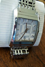 "GENUINE BURBERRY BU1572 ""NOVA CHECK"" Ladies Classic Watch w/Butterfly Clasp RUNS"