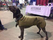 "20"" London Dog LS-11 English Tweed Water Repellant Fleece Large Dog Coat"